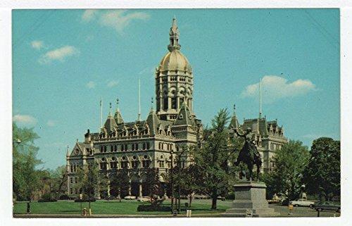 Connecticut State Capitol, Hartford, Connecticut Vintage Original Postcard #3171 - ()