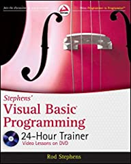 Unique book-and-DVD package for novice Visual Basic programmers Start from scratch, and even if you don?t know a thing about Visual Basic, you soon will with this thorough introduction to Visual Basic programming. Using easy-to-follow lessons...