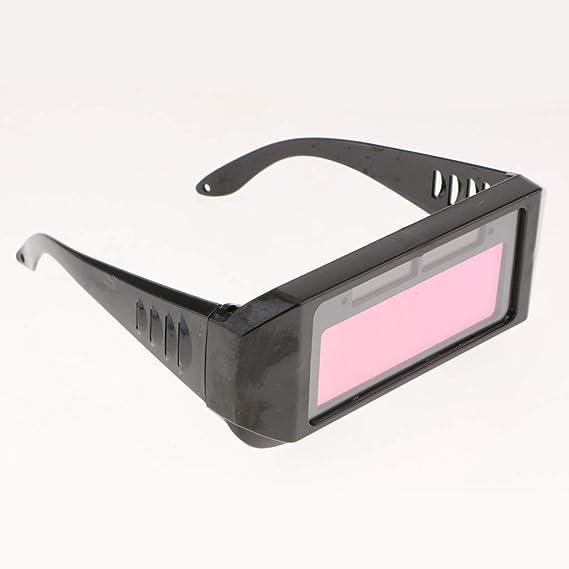 SM SunniMix Gafas Soldador Máscara Casco de Ojo Fotoeléctrica Automática Accesorio de Equipamiento Industrial: Amazon.es: Bricolaje y herramientas