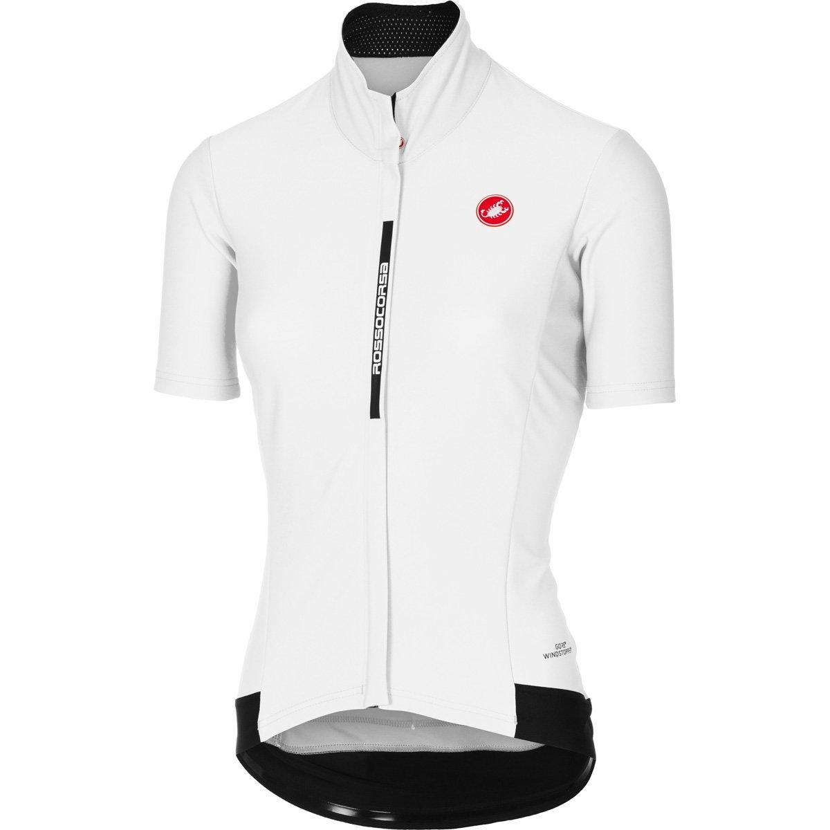 Castelli 2017レディースGabba 2半袖サイクリングジャケット – b17086 B075ZM5BSS Medium|ホワイト ホワイト Medium