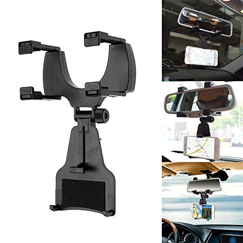 Felix-Box - New Universal Car Rear View Mirror Mount S Holder Stand Cradle for Smartphones CSL
