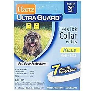"""Hartz Ultraguard Flea & Tick Dog Collar, Large 26"""" 1 ea 70"""