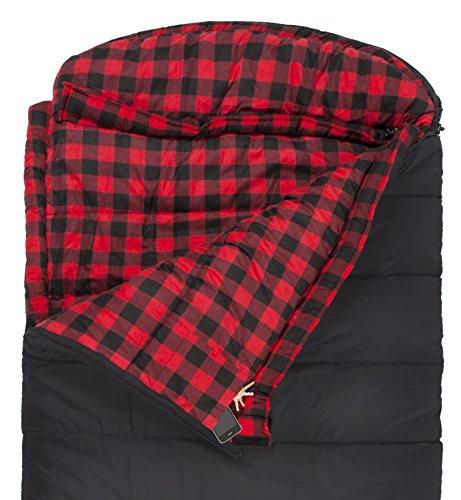 Teton sports celsius xxl 18c 0f sleeping bag black for Xxl 18 xxl 2012 black