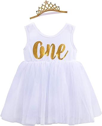 Luxury Baby Girls First 1st Birthday Outfit Tutu Skirt Top Cake Smash Grey Pink