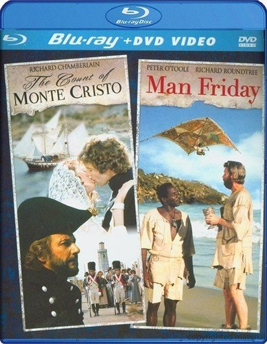 Count of Monte Cristo / Man Friday DF (Blu-ray / DVD Combo) (The Count Of Monte Cristo Blu Ray)
