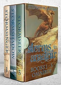 Storms in Amethir Books 1-3 Omnibus: (Storms in Amethir Epic Fantasy Series) by [Cain, Stephanie A.]