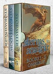 Storms in Amethir Books 1-3 Omnibus: (Storms in Amethir Epic Fantasy Series)