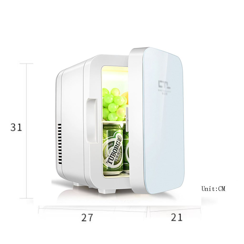 Mini frigorífico de doble uso en casa y coche, 6 l, congelador, caja de insulina, utensilios de cocina: Amazon.es: Hogar