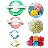 ABoby Pompom Maker Fluff Ball Bobble Weaver Needle Craft Knitting Wool Tool ...