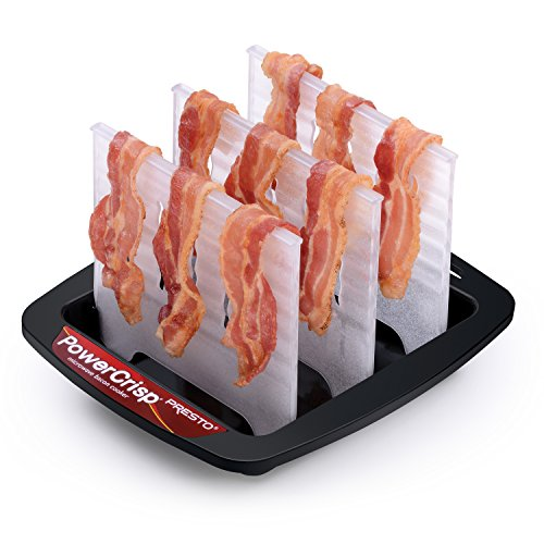 Rack for microwave bacon
