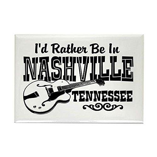 CafePress Nashville Tennessee Rectangle Magnet Rectangle Magnet, 2
