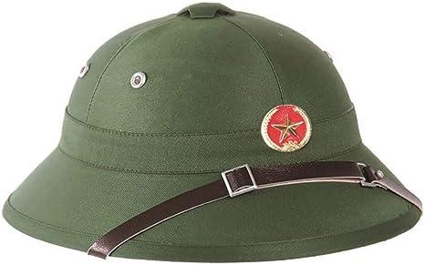 Amazon Com Vietnam War Vietcong Pith Helmet In Green Sports Outdoors