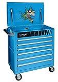 Sunex 8057NITRO Premium Full Drawer Service Cart, Nitro Fish