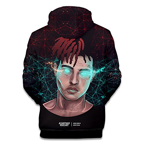 Capuche Rapper À Xxxtentacion Hop Sweatshirt Streetwear Hip Unisexe Pull Sweaters 5 3d Sweat Sweat shirt Rip cq4WzYwg4X