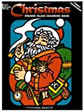 img - for Christmas Stained Glass Coloring Book (Holiday Stained Glass Coloring Book) book / textbook / text book