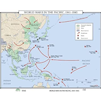 Amazon universal map 762550678 no169 wwii pacific theatre universal map 762550678 no169 wwii pacific theatre 1941 1945 publicscrutiny Image collections