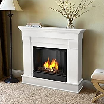 Buy Chateau Corner Gel Fireplace in Dark Walnut: Gel & Ethanol Fireplaces - Amazon.com ? FREE DELIVERY possible on eligible purchases