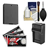 Essentials Bundle for Canon Rebel T5, T6 & T7 DSLR Camera with LP-E10 Battery & Charger + Cleaning Kit