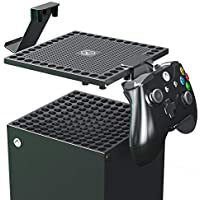 Marksstone Dust Cover Set for Xbox Series X Console with 2 Pack Game Controller Holder,Compatible with PS5 Dualsense…