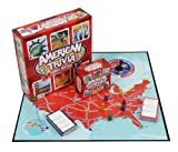 Trivia Game - American Trivia Family Edition - the America Themed Family Board Game