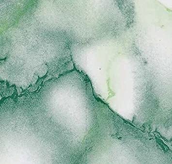 Möbelfolie Carrara Marmor Look grün Dekorfolie 45 cm x 200 cm Folie Klebefolie