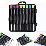 Idealhere 8in1 Precision Mini Micro Screwdriver Pocket Repair Tool Kit Set for PC Phone,Other Devices