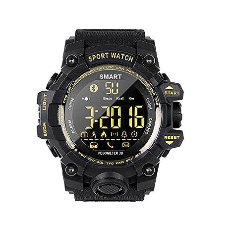 Cebbay Reloj Inteligente Bluetooth 4.0 Impermeable multifuncion Reloj Deportivo Rastreador de niños Reloj electronico Reloj de Hombre Reloj led: Amazon.es: ...
