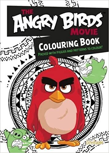 Angry Birds Movie Coloring Book: Rovio: 9781910916322: Amazon.com ...