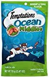 TEMPTATIONS Ocean Middles Treats for Cats Shrimp and Tuna Flavor 2.47 Ounces (Pack of 12)