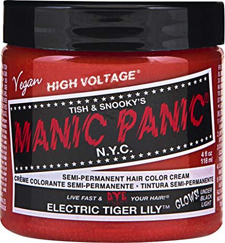 Manic Panic Tiger Lily Semi-Permanent Color Cream