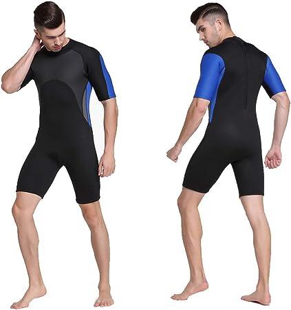 Traje de neopreno para hombre, traje de surf para hombre Chaqueta de traje de buceo de