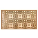 M-D Building Products 57527 Alum Sheet CHAINLINK 12'' x 24'' x 0.019'' COPPER