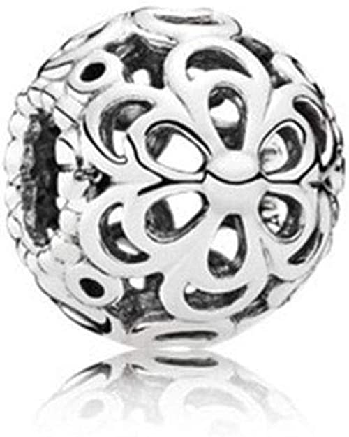 Zable 925 Sterling Silver Sis Bead Fits All Charm Bracelets