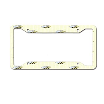 Decorative Front License Plate Frame12×6inch Frames License Plate Covers & Frames CoolPAI License Plate Frame
