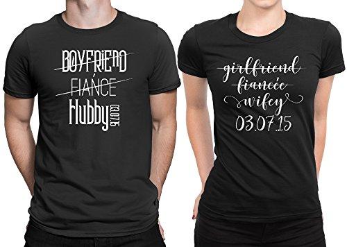 Matching hubby wifey Valentines Day tshirt
