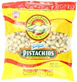 Keenan Farms Pistachio with Sea Salt, In-Shell Reclosable Natural, 32 Ounce Bag