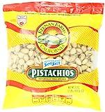 Keenan Farms Pistachio with Sea Salt, In-Shell Reclosable Natural, 32 Ounce Bag