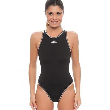 Turbo Agua Ball Traje Mujer Water Polo Traje Negro, Negro ...