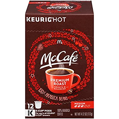 MCCAFE Premium Roast Coffee, K-CUP PODS, 12 Count by Kraft