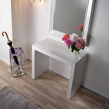 Docciabox Sideboard Tisch 5 In 1 Ausziehbar Weiss Amazon De