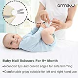 Baby Nail Kit by ARRNEW   4-in-1 Baby Grooming Kit