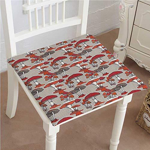 (Chair Pads Classic Design Mushrooms s Healthy Edible Trees Organic Vegetable Cotton Canvas Futon 26