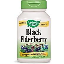 Nature's Way Elderberry Capsules 575 mg, 100-Count