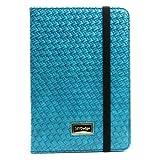 Best JAVOedge iPad Mini Cases - JAVOedge Turquoise Weaving Pattern Folio Style Book Case Review