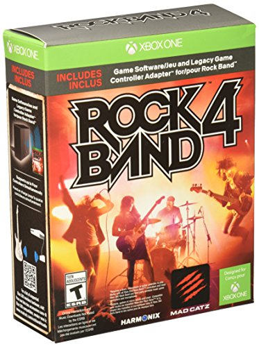 (Rock Band 4 Bundle with Legacy Game Controller Adapter - Xbox One)