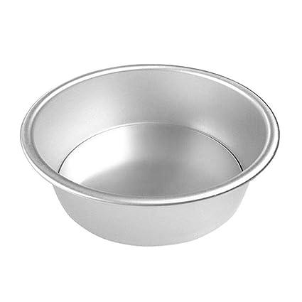 Mengonee Herramienta para Hornear Pan de aleación de Aluminio Redondo de la Torta de Gasa de