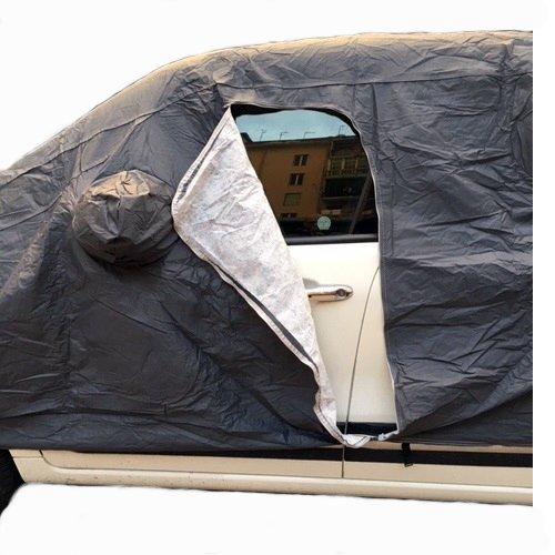 M 432X185X120CM COPERTURA PER AUTO UNIVERSALE PER RENAULT Twingo SCe Lovely TELO COPRIAUTO FELPATO IMPERMEABILE ANTIGRAFFIO TG
