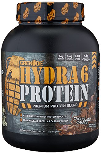 Grenade Whey Protein Powder 24g Whey Casein Protein per Serving Low Net Carb Low Fat Slow Fast Protein Blend Chocolate Charge, 4lb