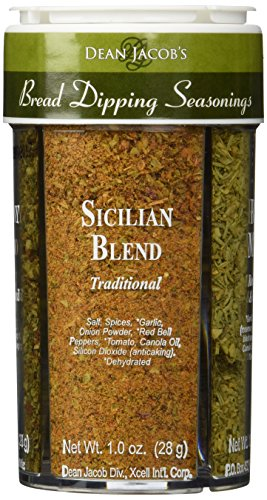 Bread Dipping Seasonings - Dean Jacob's 4 Spice Variety Pack (Italian Tuscany Dressing)