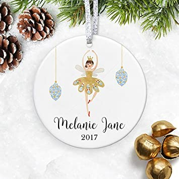 amazon com personalized christmas ornament for baby girl xmas gift